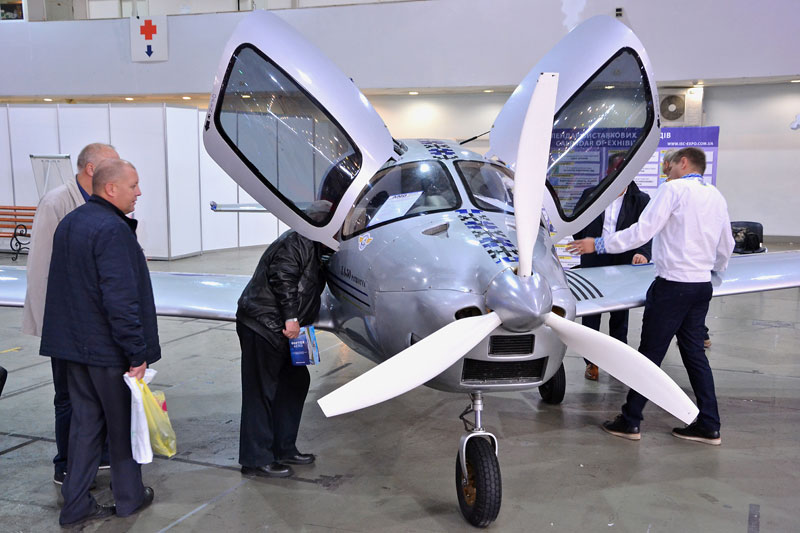 International Aviation and Space Salon AVIASVIT-XXI 2018