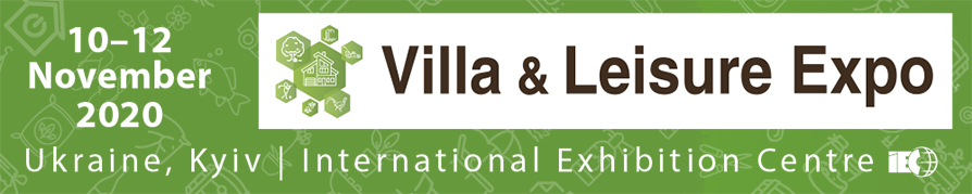 Thematic sections of the specialized exposition Villa & Leisure